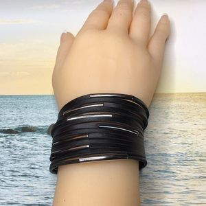 Jewelry - Black Punk Bracelet